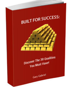 Built For Success Discover The 30 Qualities You Must Have Book Image