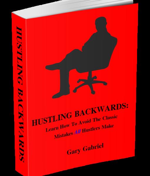 Book cover for hustling backwards